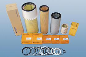Oil filters, Air Filters, Seals