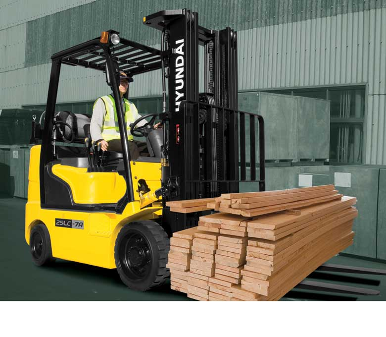 Hyundai 7A Series Cushion Tire Forklifts