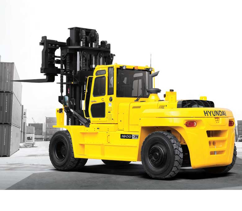 Hyundai 7E Series Large Diesel Forklifts