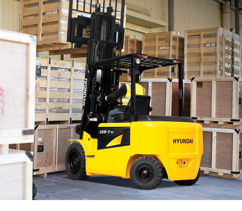 Hyundai 7AC Series Electric Pneumatic Tire Forklifts
