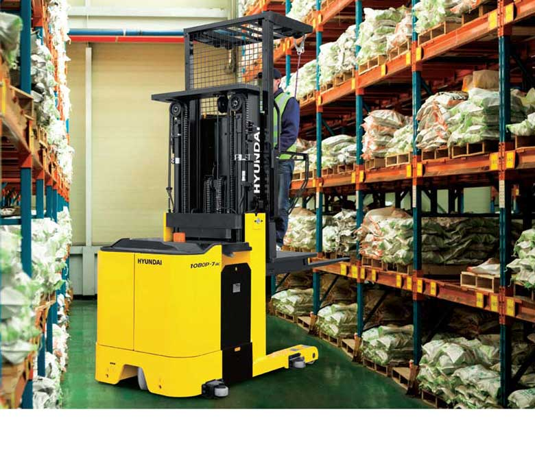 Hyundai 7AC Series Narrow Aisle Electric Forklifts