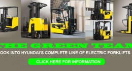 hyundai forklift, electric forklift, reach forklift, three wheeler