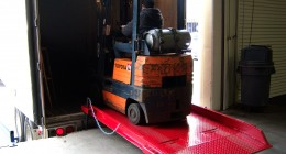 dock board, loading dock equipment