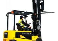 Hyundai Forklift 30BHA, 80 Volt AC forklift