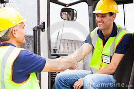 Congratulations you're now a fully trained forklift operator