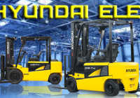 Rent a forklift from Hyundai Electric Forklifts