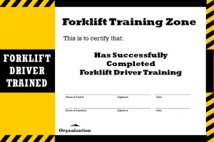 Forklift Training - call Hyundai Forklift of Southern California