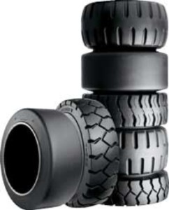 forklift tires, cushion tires, pneumatic tires