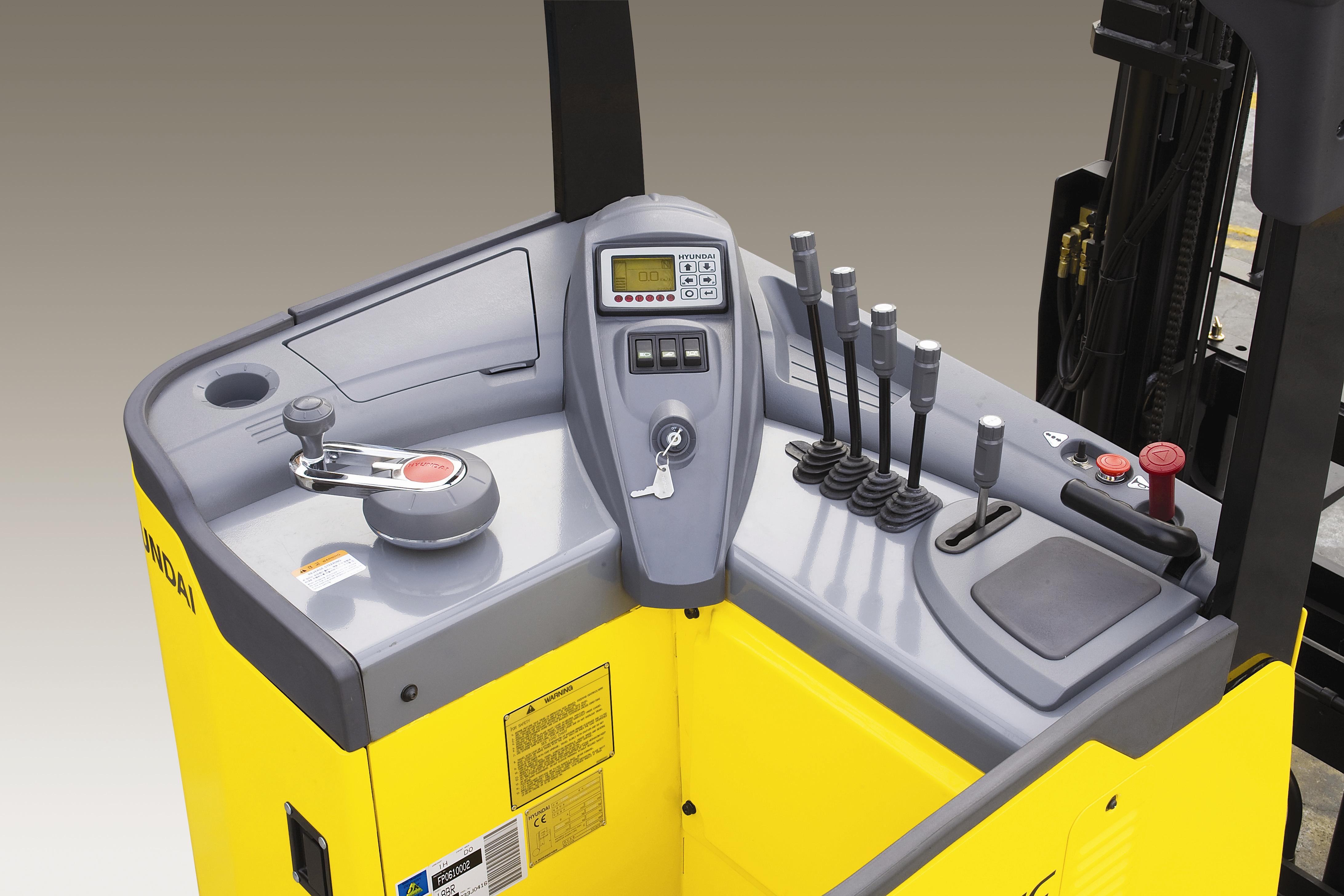 Fork Lift Controls : Reach truck controls forklift news