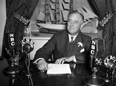 Roosevelt signing the law