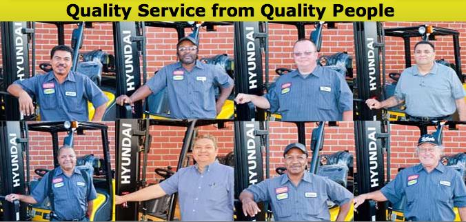 Hyundai Forklift of Southern California Preventative Maintenance