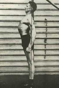 good posture. forklift mvp