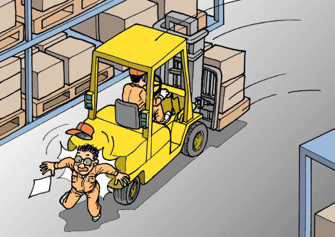 Avoid forklift accidents - get trained at Hyundai Forklift of Southern California