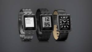 Pebble Steel at CES