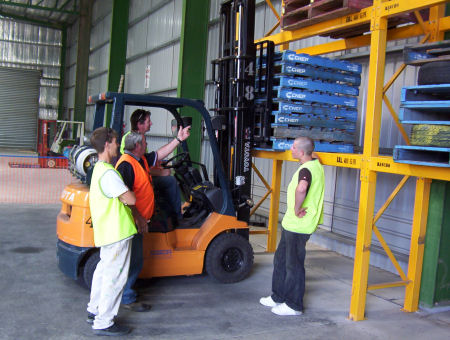 Hyundai Forklift of Southern California forklift training Los Angeles, Orange County, Riverside County